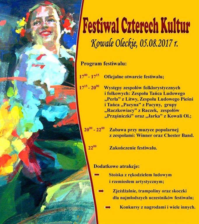 Festiwal Czterech Kultur w Kowalach Oleckich  - full image