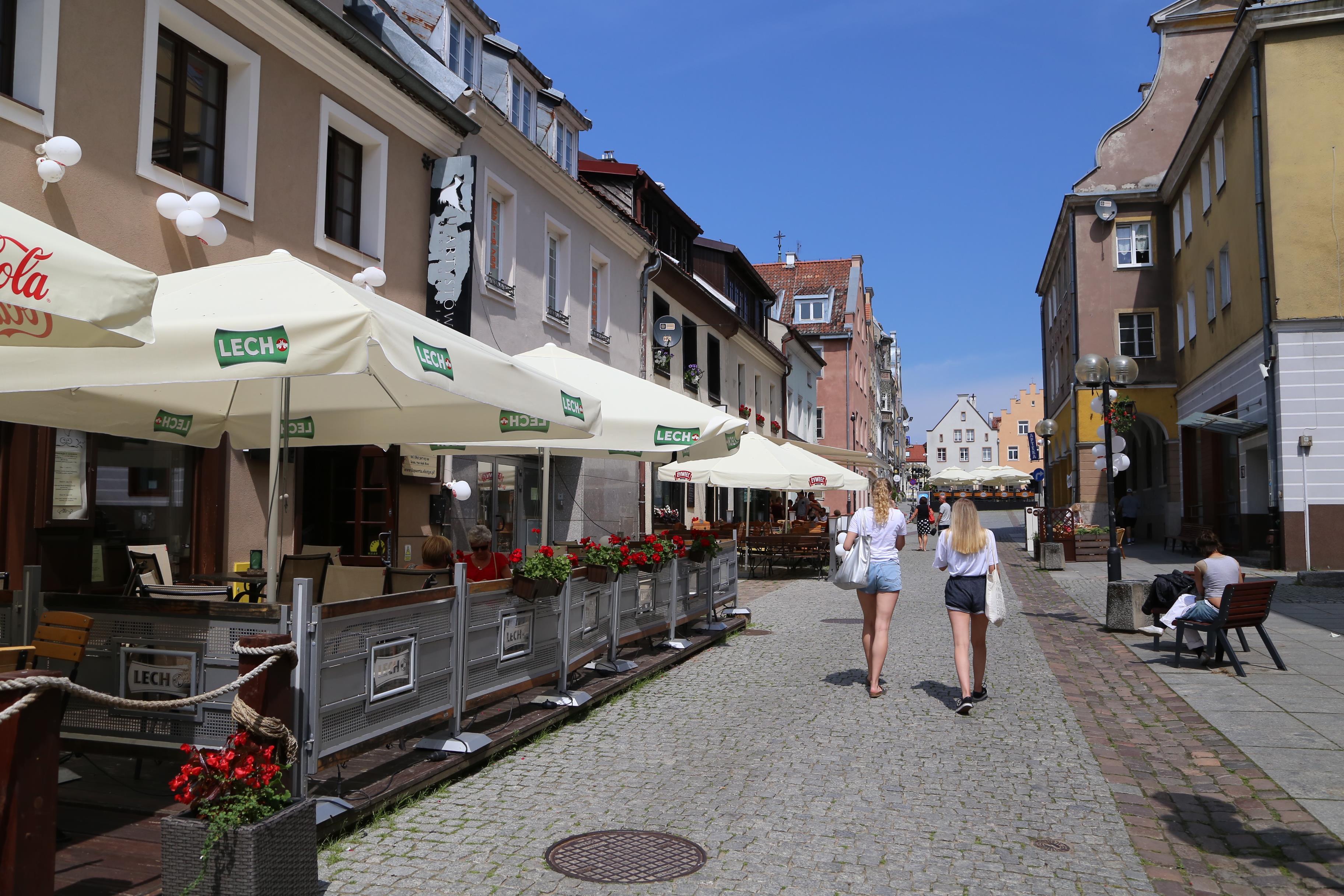Stare Miasto  Olsztyn - SStare Miasto - ulica Kołłątaja.