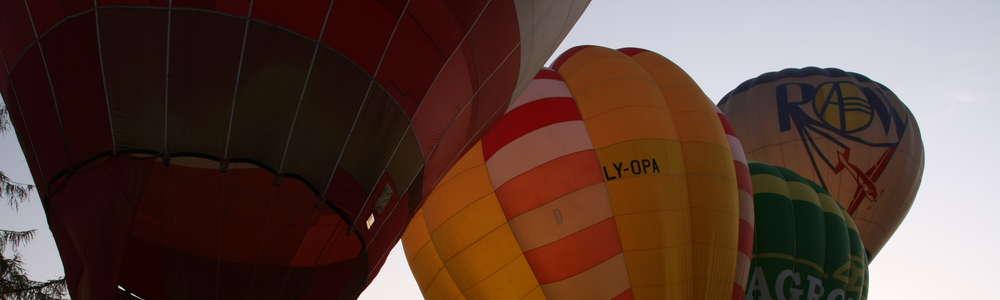 Balony pokolorowały ełckie niebo! Zobacz zdjęcia i filmy