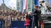 8 Żuromińska Drużyna Harcerska spotkała się prezydentem USA