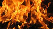 Spłonął we własnym samochodzie