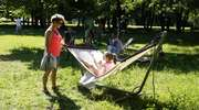 Sjesta w parku Modrzewie dla małych i dużych [zdjęcia]