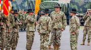 Zmiana dowódcy Batalionowej Grupy Bojowej NATO w Bemowie Piskim