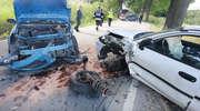 Wypadek pod Bartągiem, trzy osoby w szpitalu [ZDJĘCIA]