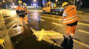 Uwaga: drogowcy zamknęli część ulic przy dworcu [zdjęcia i film]