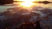 Zdjęcie Tygodnia. Zachodzące słońce nad jeziorem Kinkajmy
