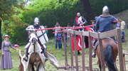 Turniej konny na wzgórzu zamkowym