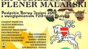 Plener malarski w Pasłęku