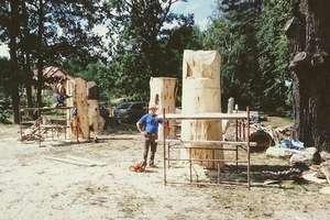 Trwa III Plener Malarsko - Rzeźbiarski w Rucianem-Nidzie