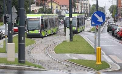 Problem z tramwajami w Olsztynie. Dlaczego większość kursów obsługują autobusy?