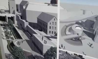 Tak będą wyglądały okolice Wysokiej Bramy i Starego Miasta w Olsztynie