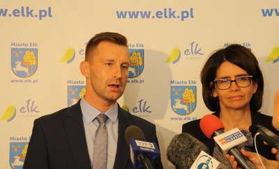 Minister Streżyńska znów w Ełku. Odwiedziła mamy w szpitalu miejskim