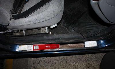 Skrytki w progach aut nie są tajemnicą dla celników
