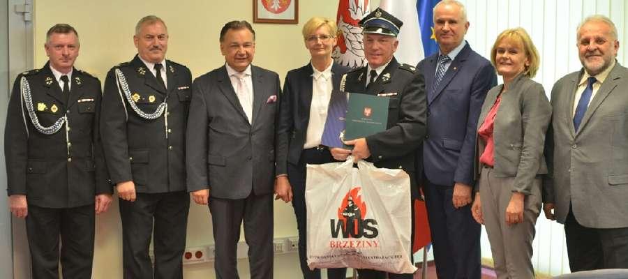 Bohaterską postawę Witolda Spychały docenił marszałek Adam Struzik