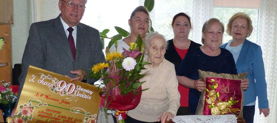Weronika Szopa z Mrągowa skończyła 90 lat