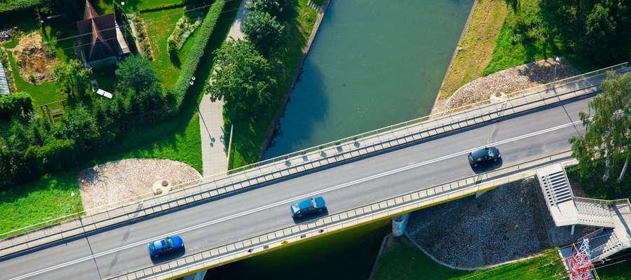 Most na ul. Obwodowej nad Kanałem Łuczańskim
