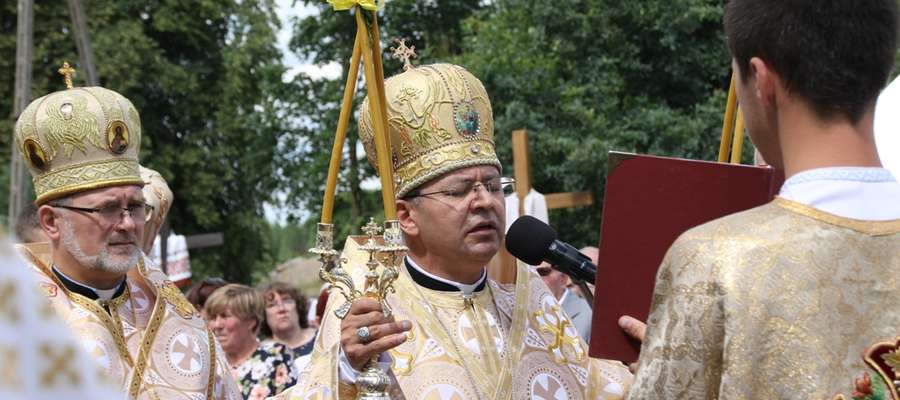 70 lat greckokatolickiej parafii w Chrzanowie. Tekst w języku ukraińskim