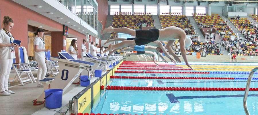 Puchar Polski  OLSZTYN- Grand Prix Pucharu Polski w pływaniu. Aquasfera Olsztyn. Fot. Bartosz Cudnoch / 27 maj 2014 /