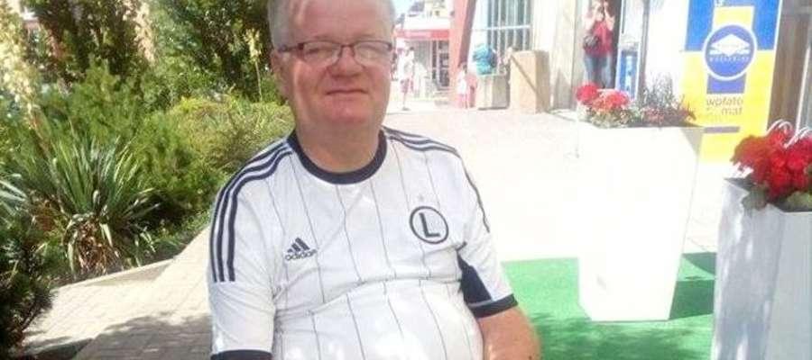 Trener Andrzej Błaszkowski potrzebuje wsparcia po operacji