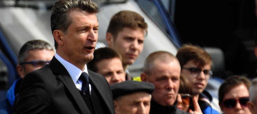 Sławomir Majak nie jest już trenerem zespołu Finishparkiet-Drwęca