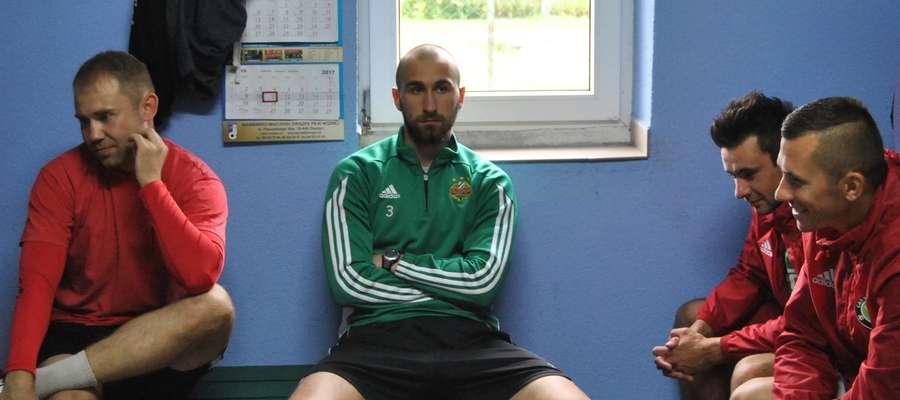 W pierwszym treningu GKS-u uczestniczył m.in. iławianin Kacper Zakrzewski (zielona bluza), który ma za sobą występy w juniorskich drużynach Rapidu Wiedeń