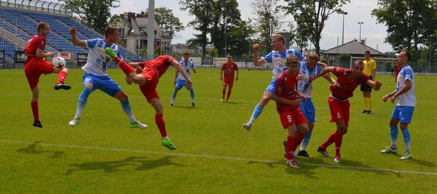 Piłkarze Stomilu w Ostródzie pokonali trzecioligowego Sokoła