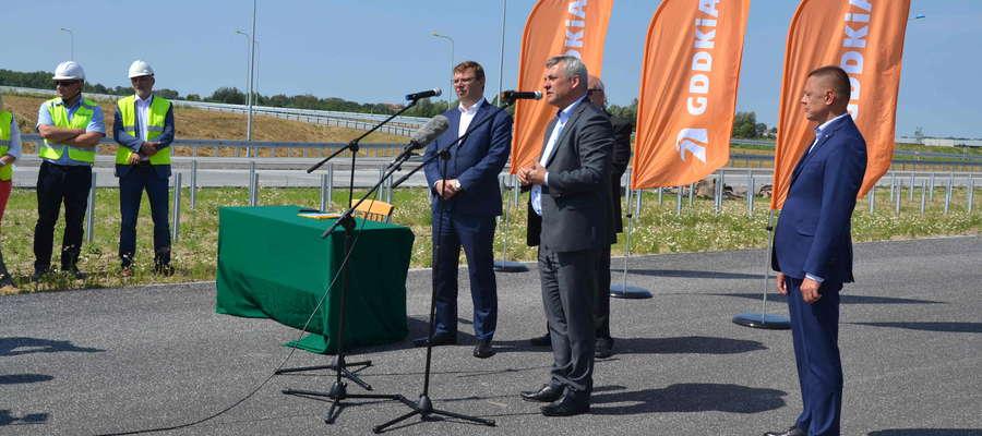 """Spotkanie odbyło się na budowanym w okolicach Ostródy odcinku """"siódemki"""""""