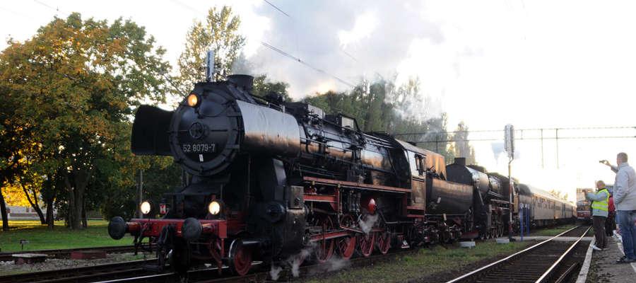 Pociąg retro jeździł już przez Elbląg w 2013 roku