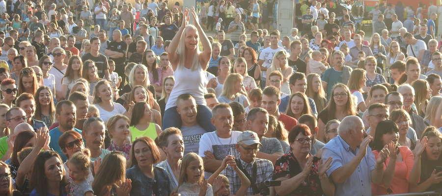 Publiczność dobrze się bawiła