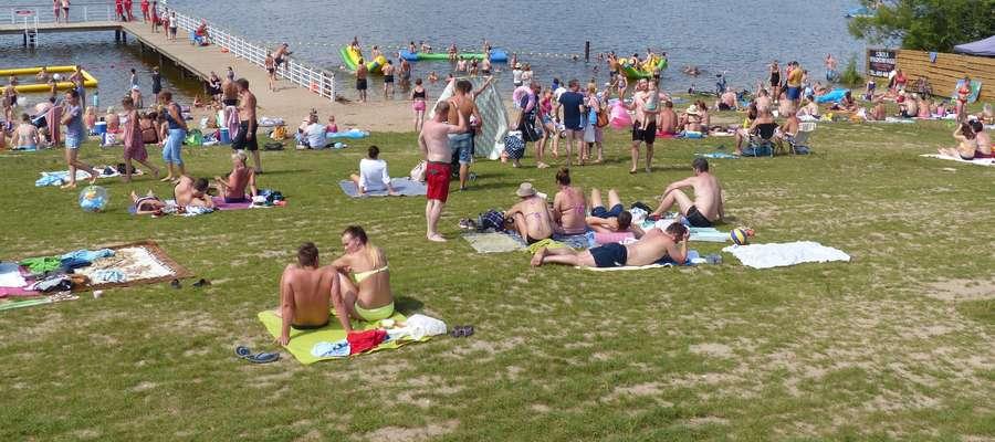 Zdjęcie ilustracyjne — Dzika Plaża w Iławie