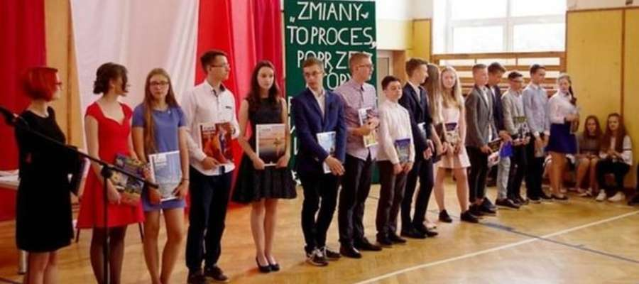 Uczniowie gimnazjum przy ZSO w Nidzicy najlepiej napisali test gimnazjalny