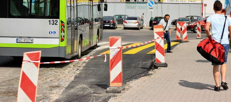 Po przebudowie widok na parking przy olsztyńskim dworcu zmieni się całkowicie