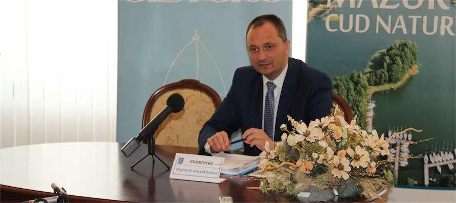 Wojciech Karol Iwaszkiewicz, burmistrz Giżycka - zdjęcie jest tylko ilustracją tekstu