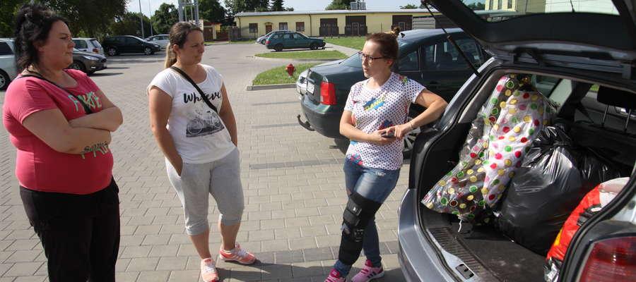 Mamuśki z Bartoszyc, czyli (od lewej) Marlena Sófczyńska, Agnieszka Symonowicz i Monika Skabara