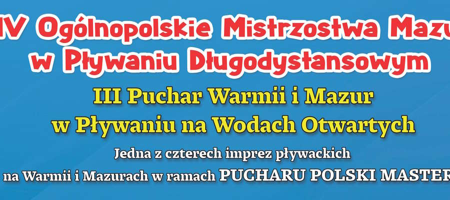 Fragment plakatu promującego zawody