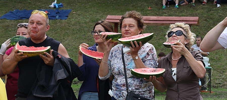 Rekord w jedzeniu arbuza