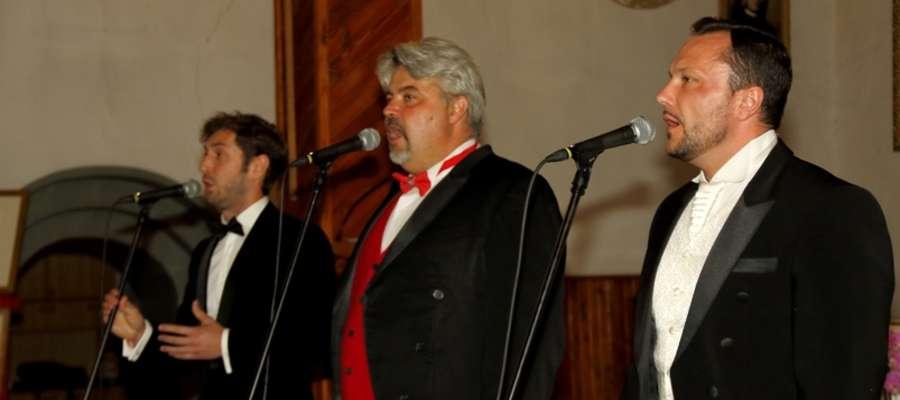 Koncert trzech tenorów w Rydzewie
