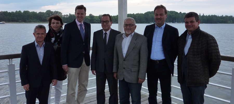 Przywitanie delegacji w Porcie Śródlądowym w Iławie