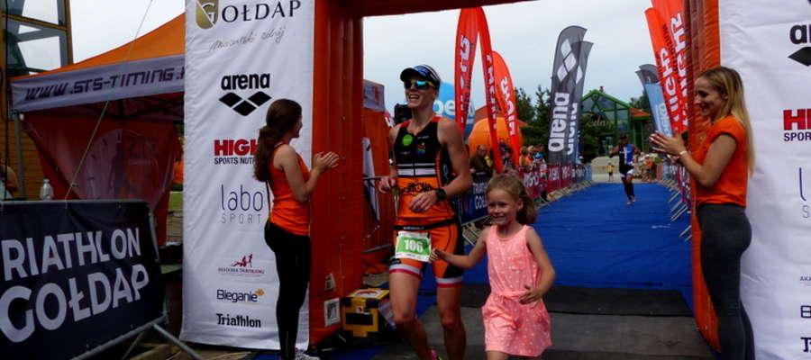 Gołdapianka Emilia Wołyniec w niedzielnych zawodach zajęła 2 miejsce open.