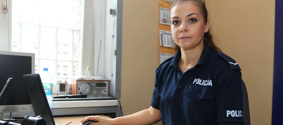Anna Balińska, rzecznik prasowy KMP Olsztyn