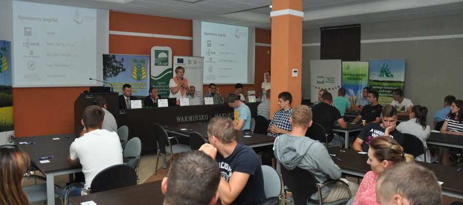 W etapie wojewódzkim Olimpiada Wiedzy Rolniczej, ochrony Środowiska i BHP w Rolnictwie udział wzięło 45