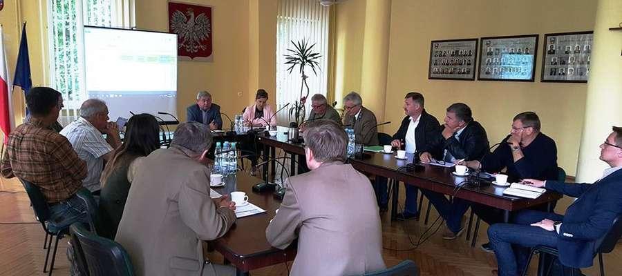 Spotkanie w starostwie powiatowym