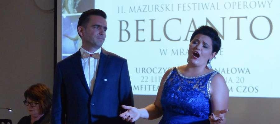 W koncercie walentynkowo-karnawałowym wystąpią Katarzyna Zając-Caban - sopran i Piotr Wołosz - bas