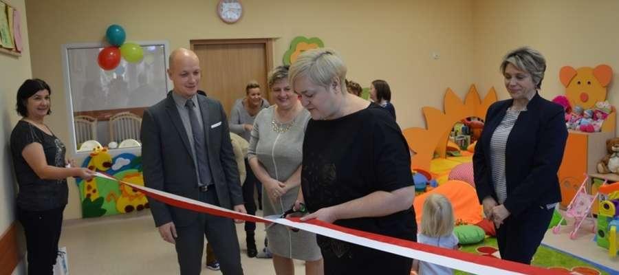 Jeszcze w listopadzie ubiegłego roku Marzena Kapińska otwierała żuromiński żłobek