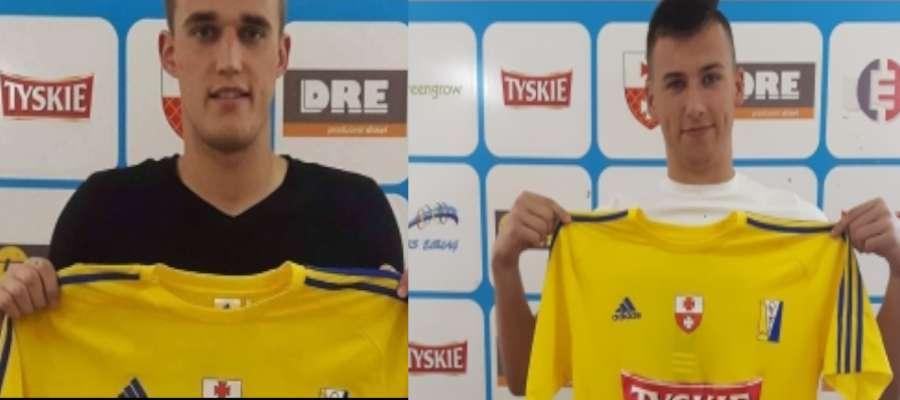 Od lewej Piotr Kurbiel i Szymon Klepacki