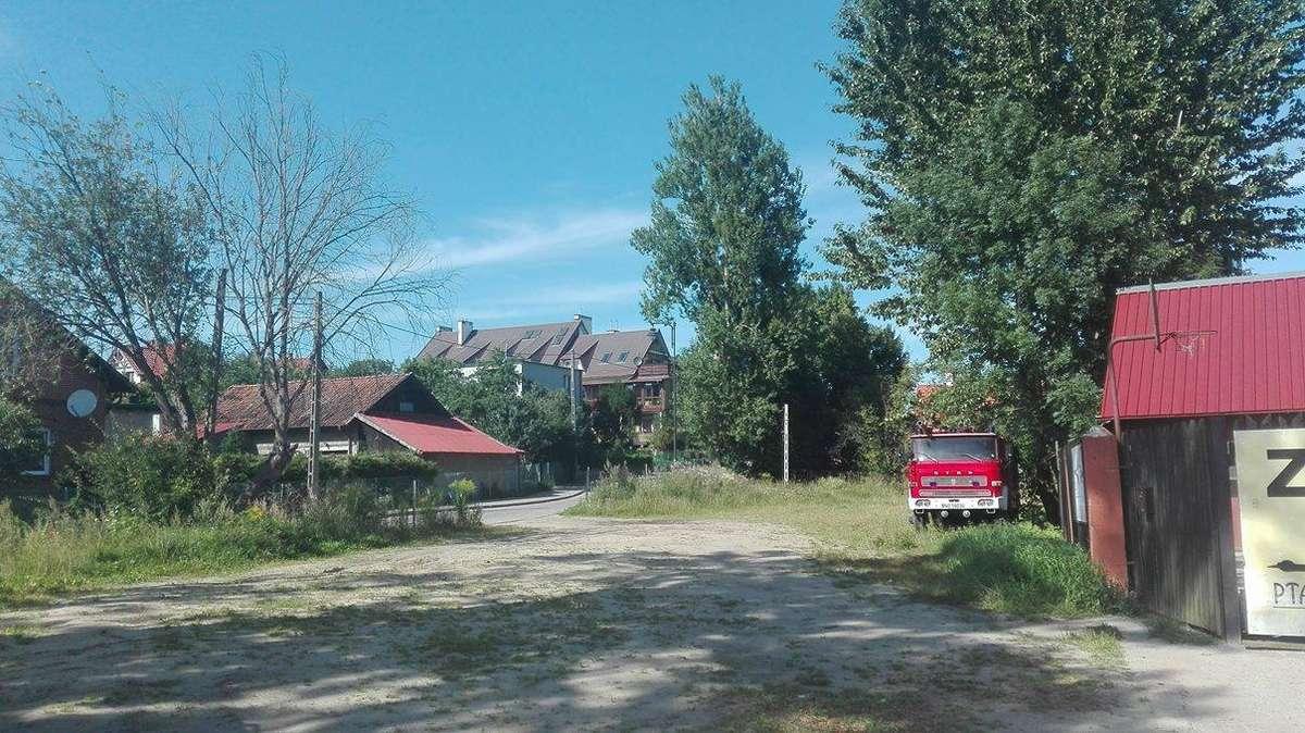 Gutkowo - widok z ul. Bałtyckiej - full image