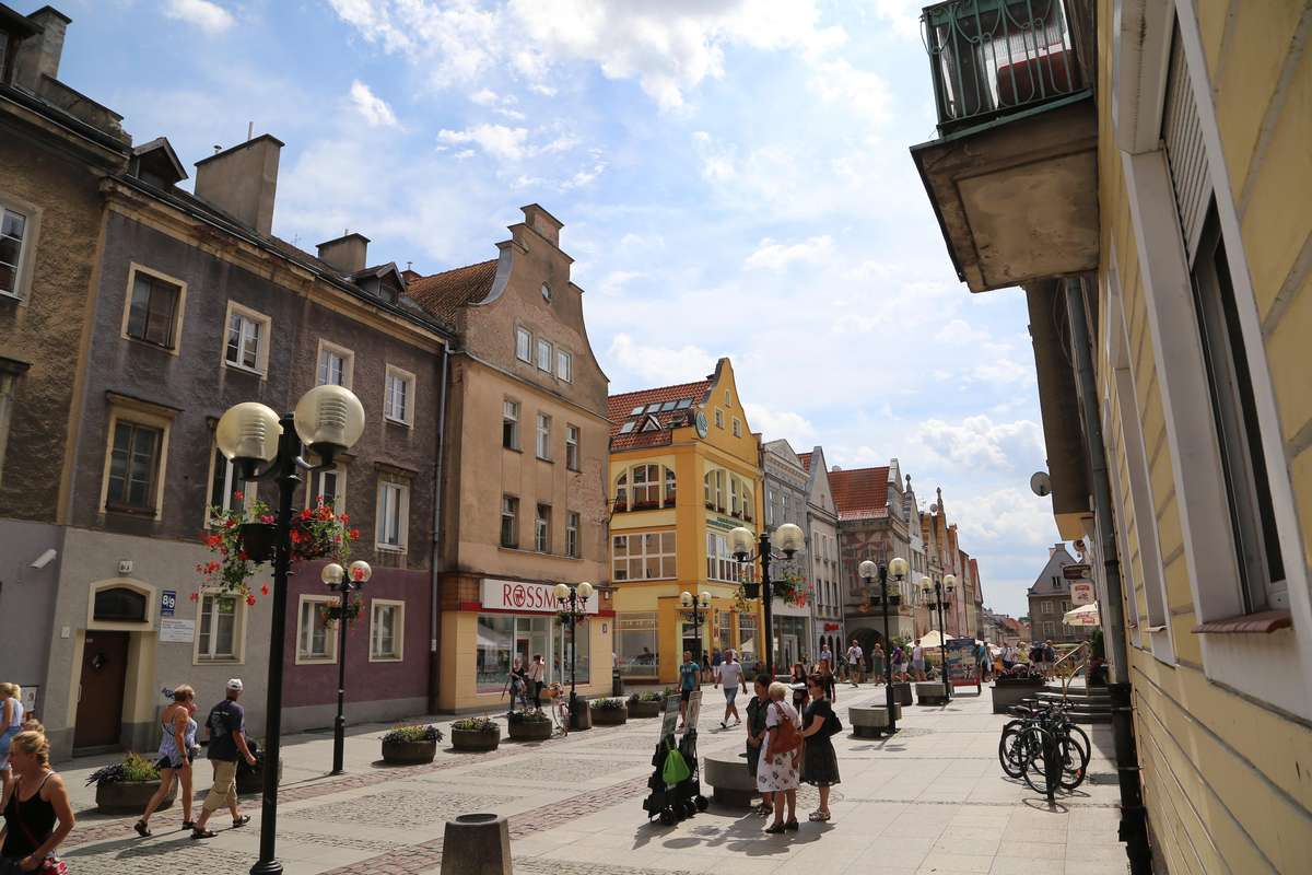 Stare Miasto  Olsztyn - Stare Miasto - kamienice.