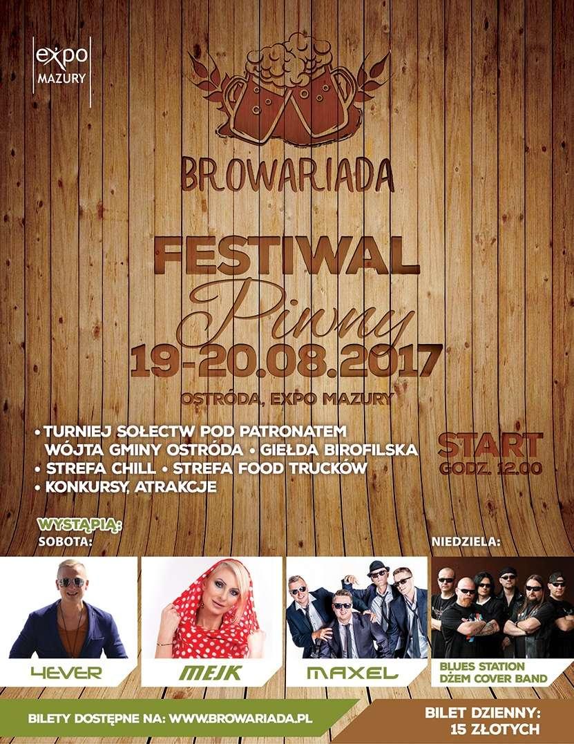 Browariada – pierwszy ostródzki Festiwal Piwny w Expo Mazury - full image