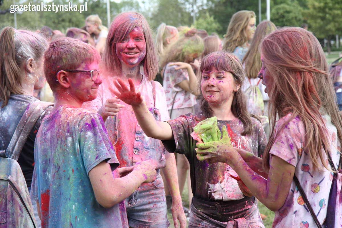 Holi Festival. W Olsztynie było kolorowo [ZDJĘCIA i FILM] - full image