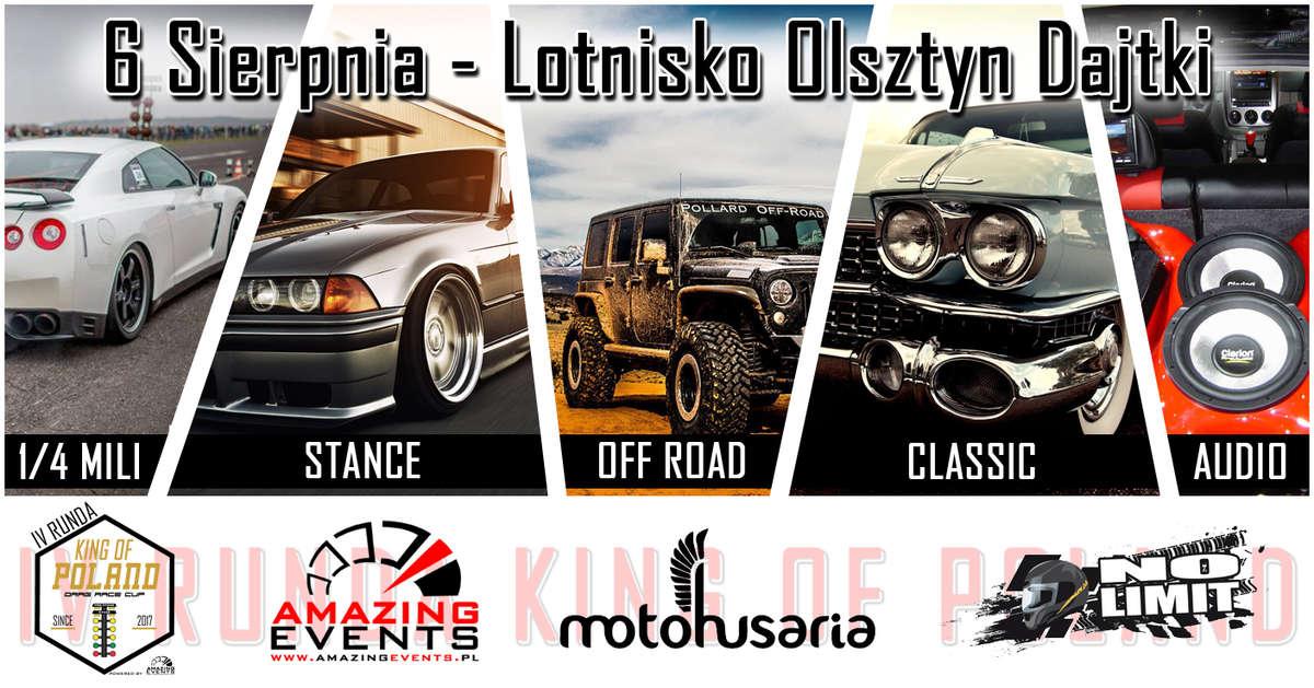 Motoshow na 1/4 mili. Motoryzacyjna impreza na Dajtkach - full image